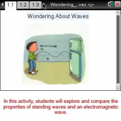 Wondering About Waves [Science Nspired Previe