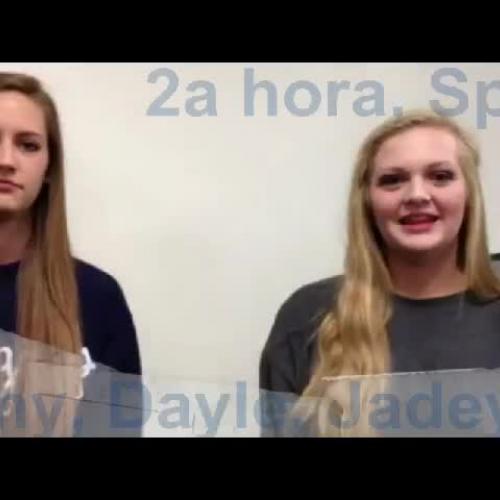 2a Hora Amy, Dayle & Jadeyn Story Telling
