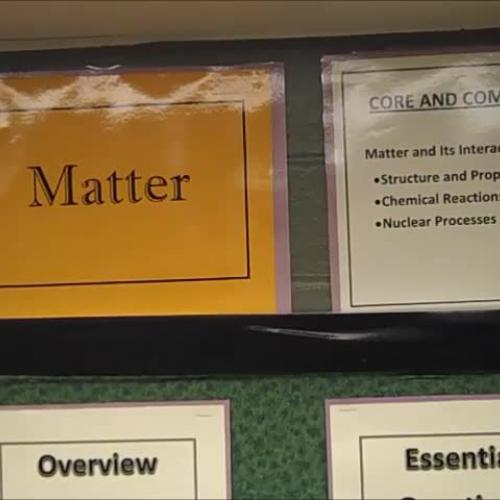 8th Grade Science-Matter