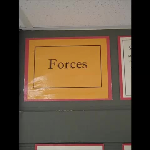 8th Grade Science- Force