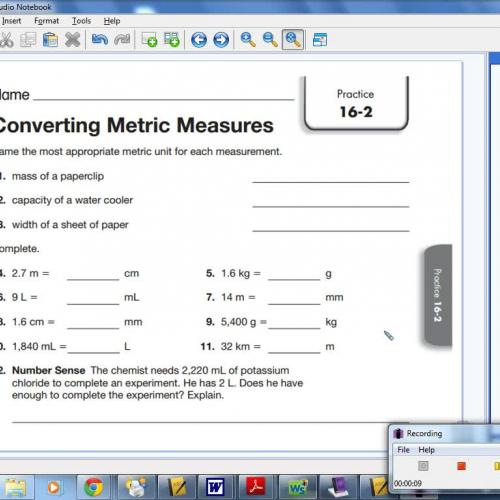 16-2 Converting Metric Measures