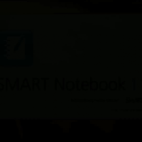 SMART Notebook Information Buttons