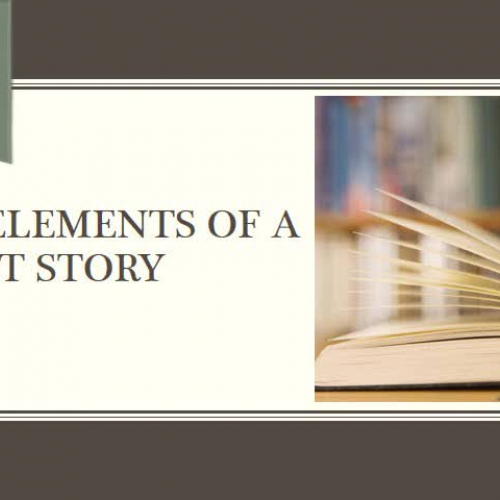 The Elements of a Short Story (8th Grade)