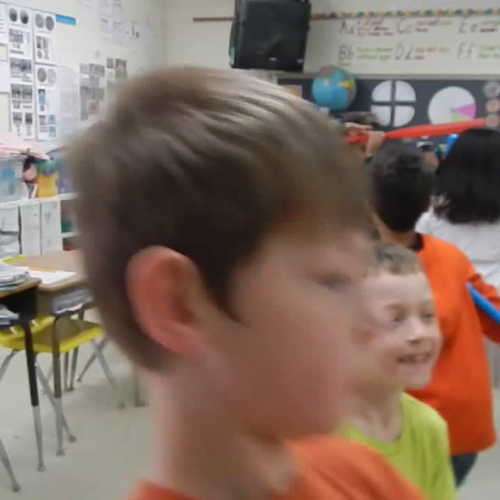 Solid Shape Edges and Vertices Dance