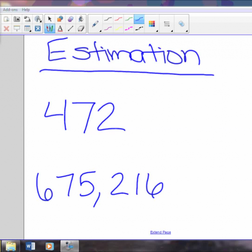 Review # 2 estimation and rounding