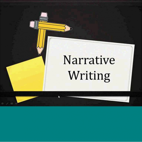 Narrative Writing K-2