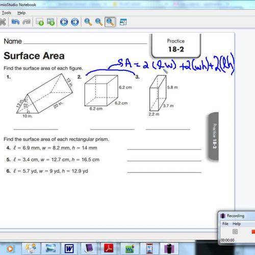 18-2 Surface Area