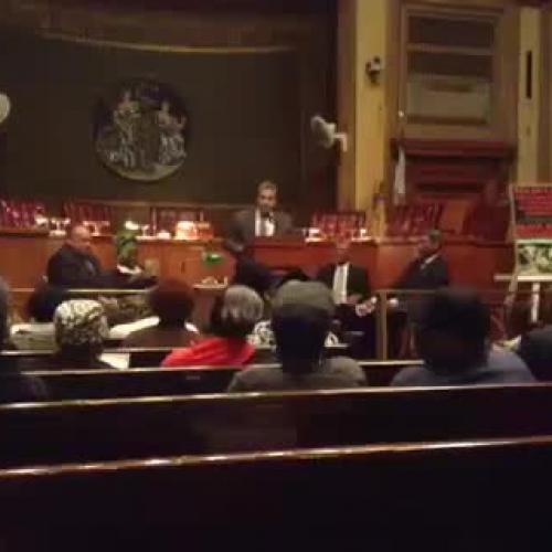 Councilman Ramos nominates Principal Dennis f