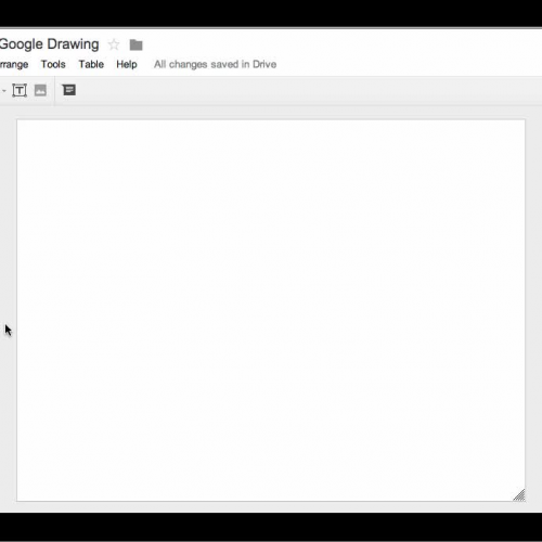 Basics of Google Drawing