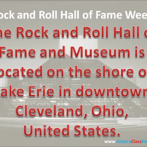 Rock and Roll Hall of Fame 2014