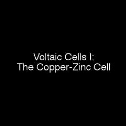 Galvanic Cell with Zinc and Copper