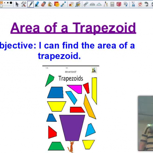 Area of a Trapazoid FLIP VIDEO