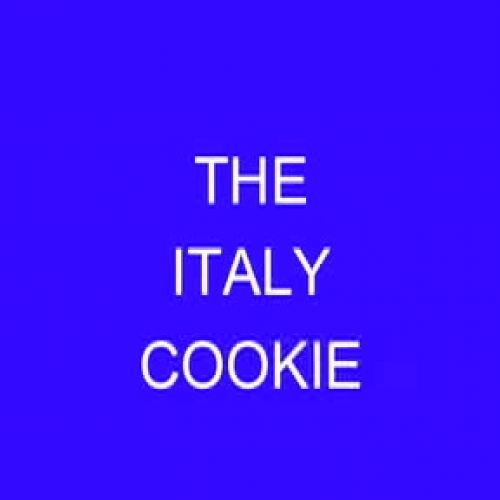The Italy Cookie-Bronxville School
