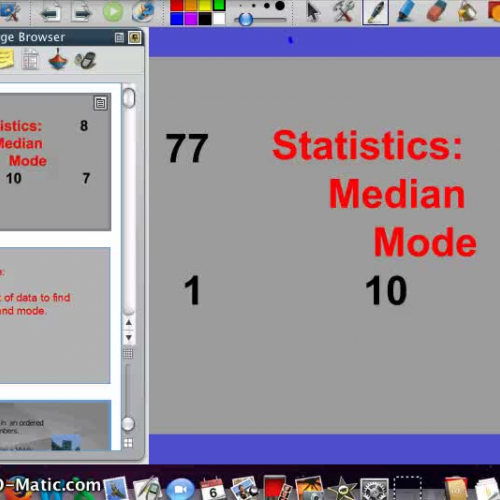 Median and Mode Video