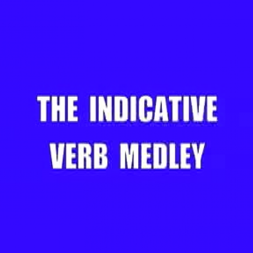 The Indicative Verb Medley-Bronxville & Fordham