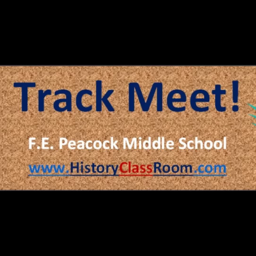 Chargers Track Meet 5-12