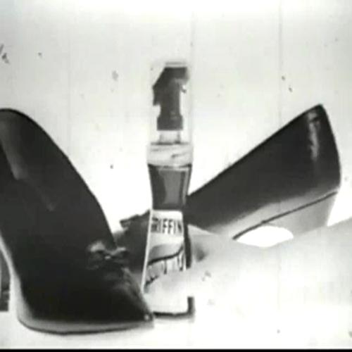 Griffen Shoe Polish  Classic TV Commercial