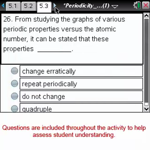 Periodicity of Properties [Science Nspired Preview Video]