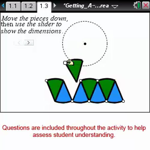 Getting A-round Area [Math Nspired Preview Video]