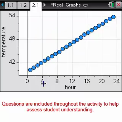 Real Graphs [Math Nspired Preview Video]