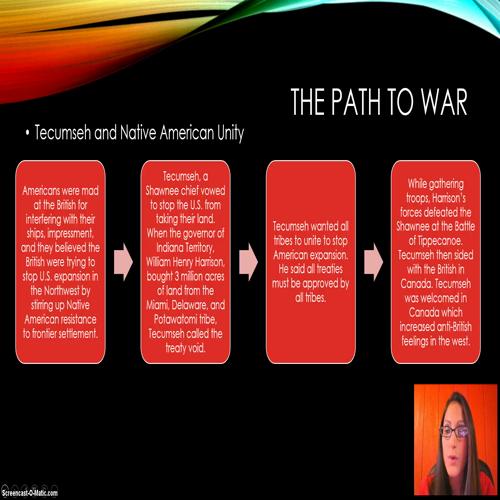 Ch 10.3 The War of 1812