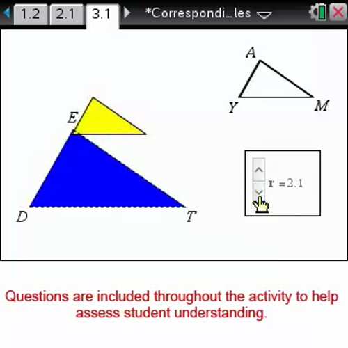 Corresponding Parts of Similar Triangles [Math Nspired Preview Video]