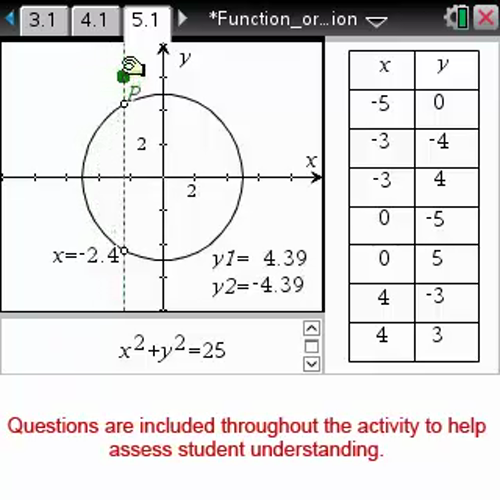 Function or not a Function [Math Nspired Preview Video]
