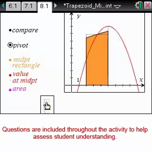 Trapezoid and Midpoint Approximations [Math Nspired Preview Video]