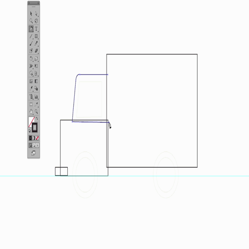 Adobe Illustrator CS6 07 truck lesson