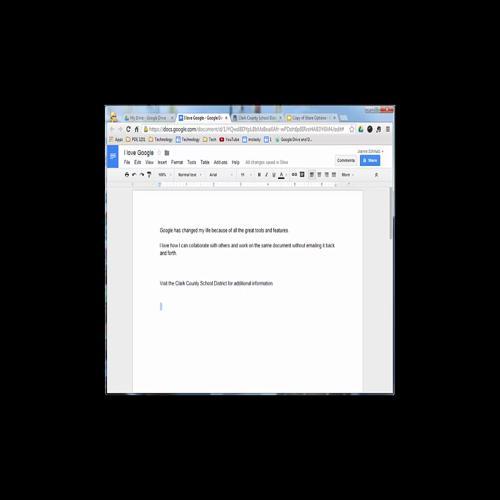Google Drive - Hyperlinks