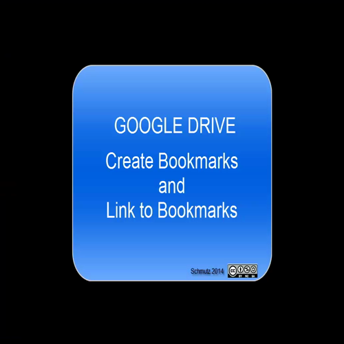 Google Drive - Create Bookmarks and Links