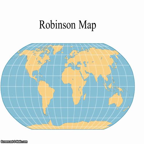 robinson map