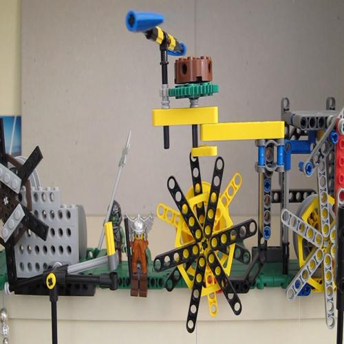 Lego Clock Escapement - Verge and Foliot