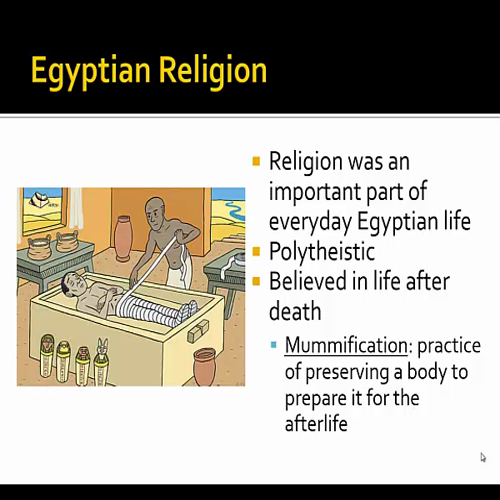 Mr. Young's History: #4 Egypt