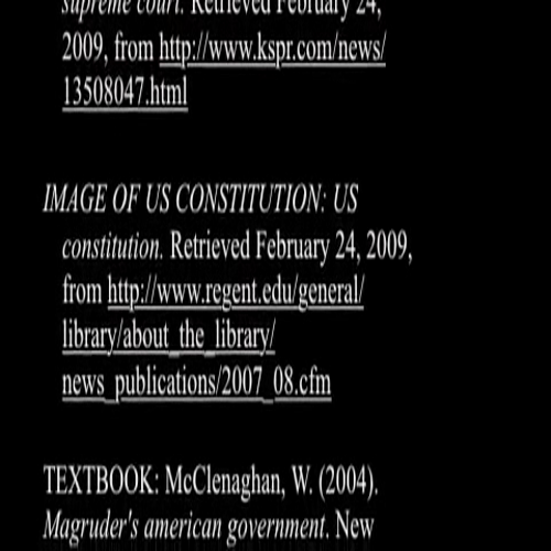 Six Principles of the US Constitution