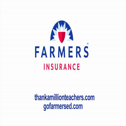 "Farmers Insurance presents ""Thank a Million Teachers"""