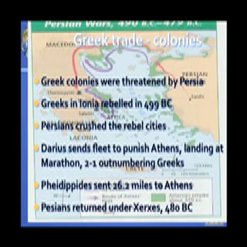 The Ancient Greek Persian and Pelopponesean Wars and the Golden Age Between Them