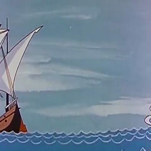 Christopher Columbus - Cartoon