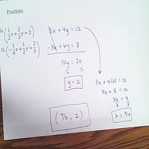 fraction systems