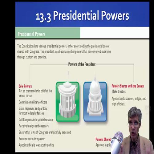 The Presidency  13.3-5