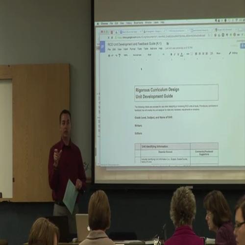 Unit Editors Training - Jason