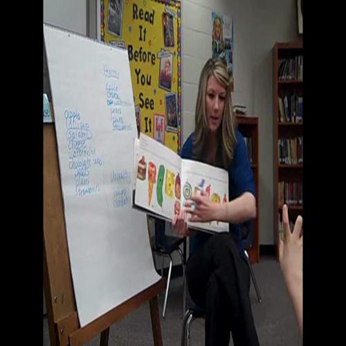 kindergarten close reading lesson 1