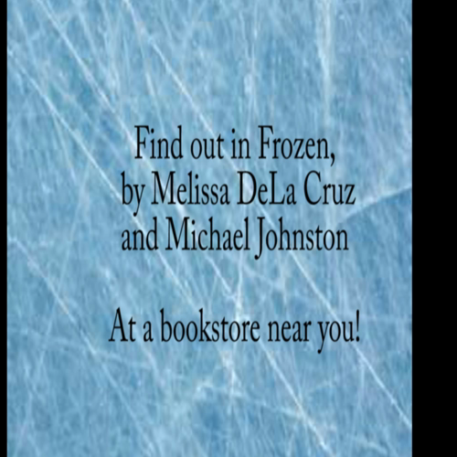frozen book trailer