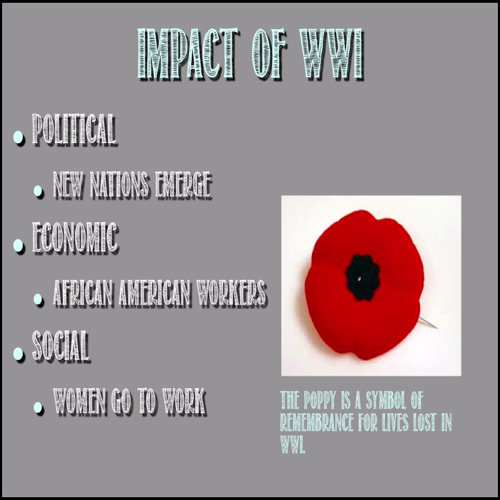 World War I - Victory Without Peace