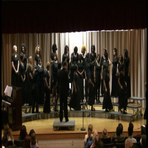 girls chorus - let it snow