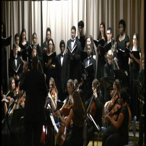 chamber orchestra and chorale - gloria & hallelujah chorus