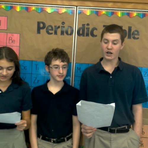 Chemistry Carols - Holly Jolly Christmas - How to Use the Periodic Table