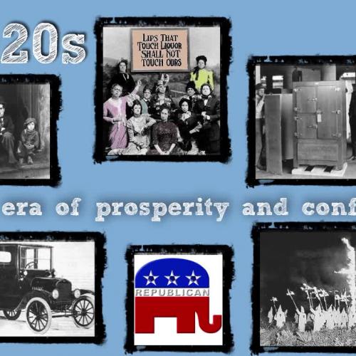 1920s-A New Economic Era