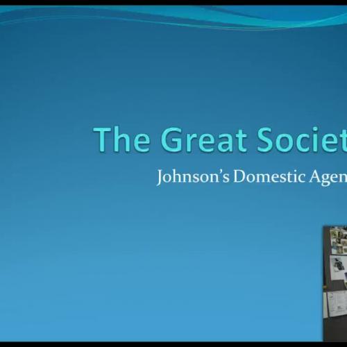 Great Society: Johnson's Domestic Agenda