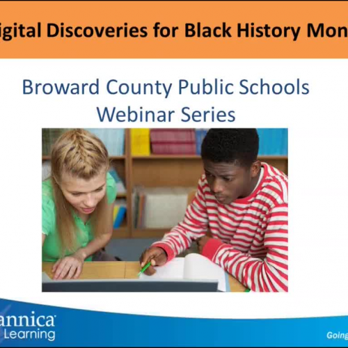Digital Discoveries for Black History